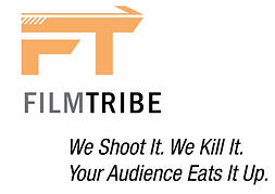 Filmtribe tagline and website copywriting developed by MarketPower, as part of it's brand strategy and brand identity.