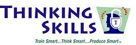 Marksmall business logo taglinetPower developed Thinking Skills branding