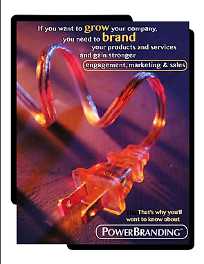 Brand consultant Joel Alpert brings PowerBranding to the market, combinn Robert Fritz Inc.'s unique structural dynamics brand strategy process.