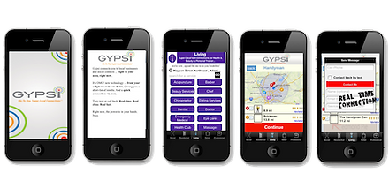 We developed the startegy, bandng ad markeitng for this Location-based (LBS) mobile app.