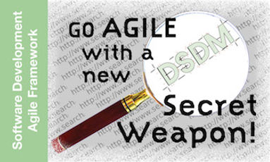 Agile development, DSDM, andwaterfall software development processes to make spped-to-market faster are explored...