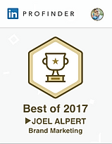 "Joel Alpert of Atlanta LinkedIn Personal Branding is noted as a LinkedIn Profider ""Best Of"" expert in branding."