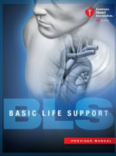 CPR/BLS: BASIC LIFE SUPPORT COURSE ONLY. PROVIDER/RENEWAL BOOKS SOLD SEPARATELY