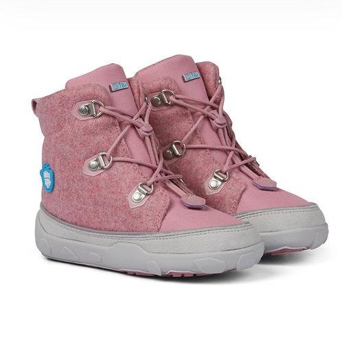 Affenzahn Mid Boot Wool  Unicorn  Pink