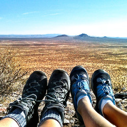 Butte Hiking