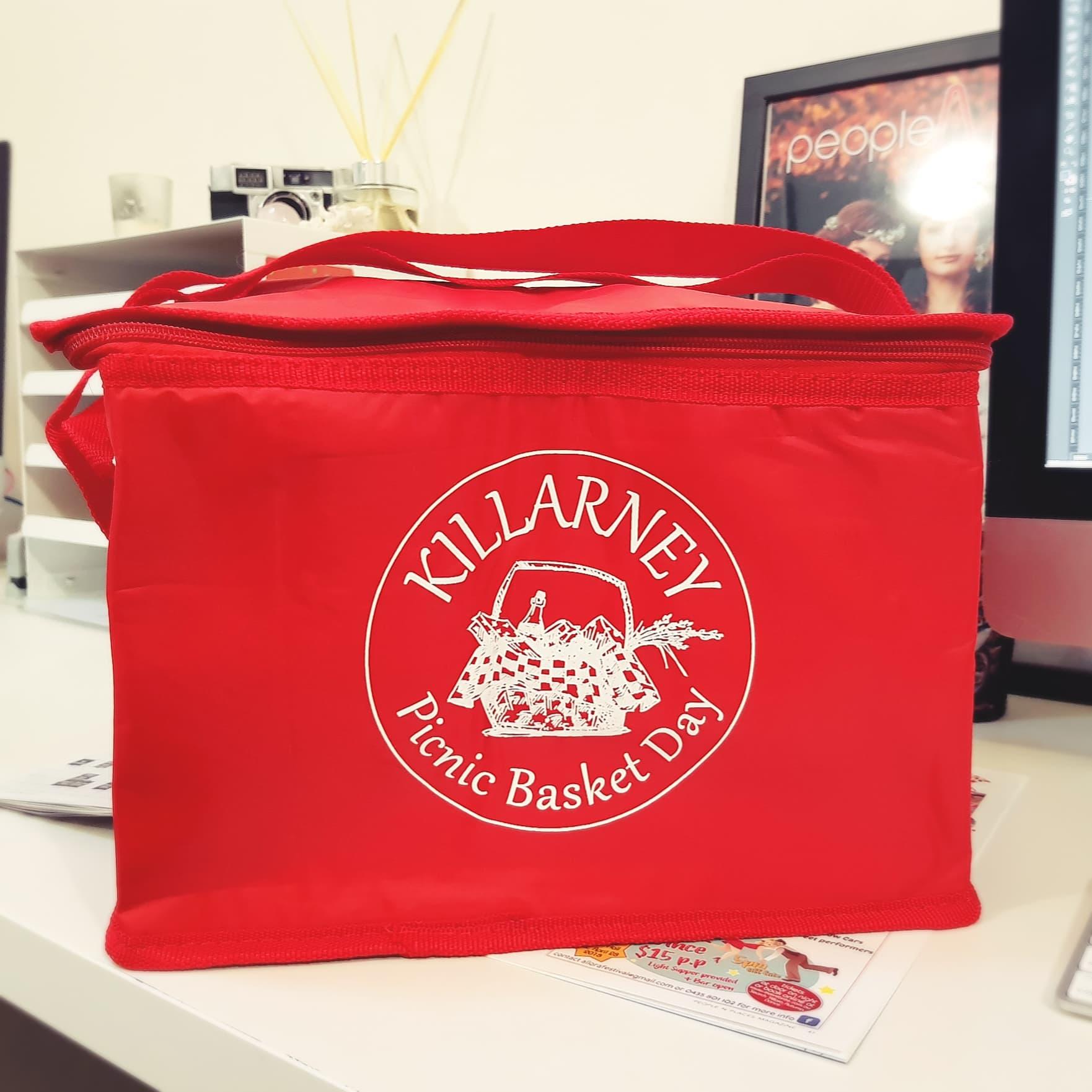 Cooler Bag Picnic Basket
