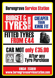 Medway Tyres, low cost, cheap, budget, premium, economy, Berengrave Service Station, Rainham, Gillingham, Kent, MOTs, bike, car , diagnostics, servicing, repairs, Alloy refurbishment spraying, Wheel Alignement
