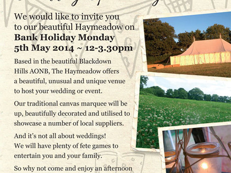 Blackdown Events Open Day and Fete