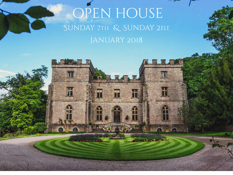 """Clearwell Castle """"Open House"""" 7th & 21st January 2018"""