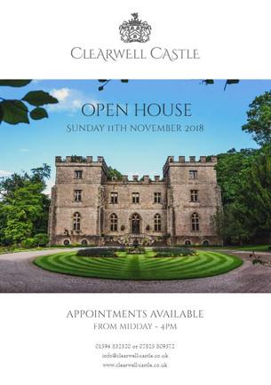 "Clearwell Castle ""Open Day"" 11.11.18"