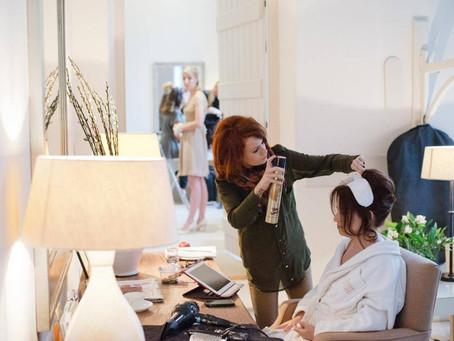 Louise Alway - Wedding hair stylist