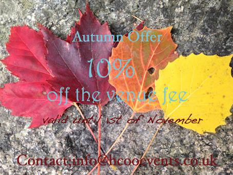 Autumn offer at The Grange