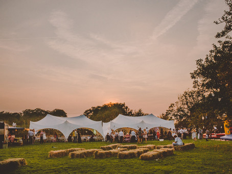 View The Orchard (H-Coo @ The Grange) with Marquee Tent/Set Up