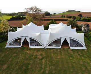 Covered marquees