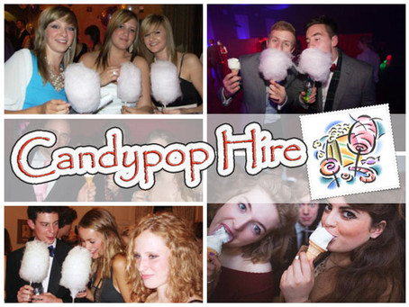 Candypop hire