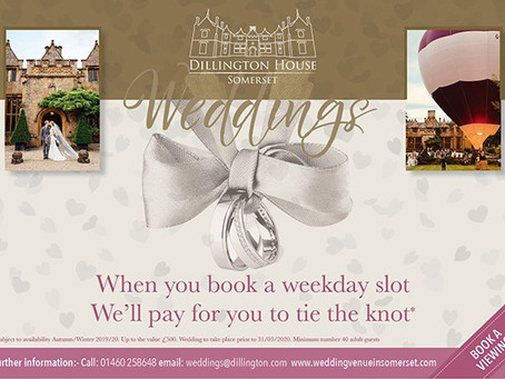 "Dillington House ""New Wedding Packages"""