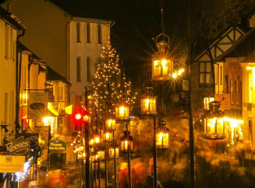 Dunster by Candlelight 8th December