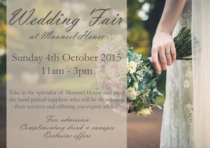 """Maunsel House """"Wedding Fair"""" 04.10.15"""