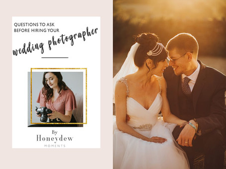 HOW TO CHOOSE YOUR WEDDING PHOTOGRAPHER – A GUIDE BY HONEYDEW MOMENTS
