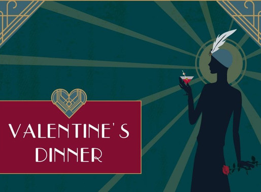 Valentines Dinner at Hestercombe