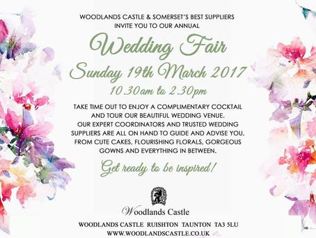 "Woodlands Castle ""Wedding Fair"" 19.03.17"