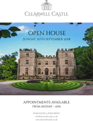 "Clearwell Castle ""Open Day"" 30.09.18"