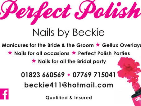 """Perfect Polish"" nails by Beckie"