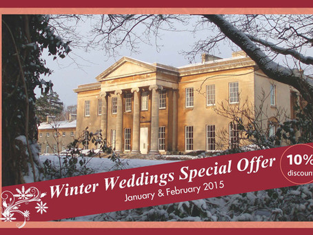 """Leigh Court """"Winter weddings special offer"""""""