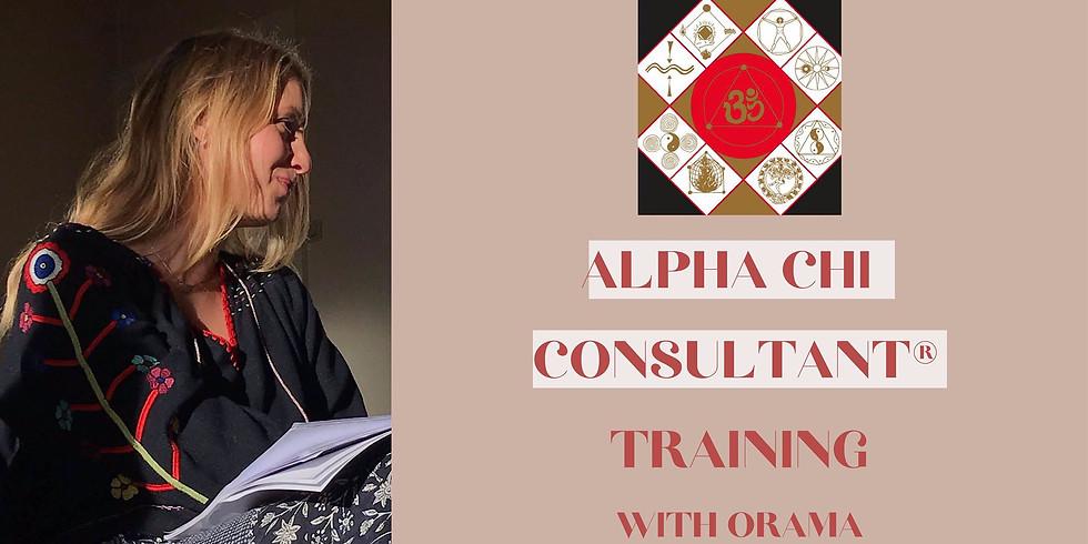 Alpha Chi Consultant Training with Orama