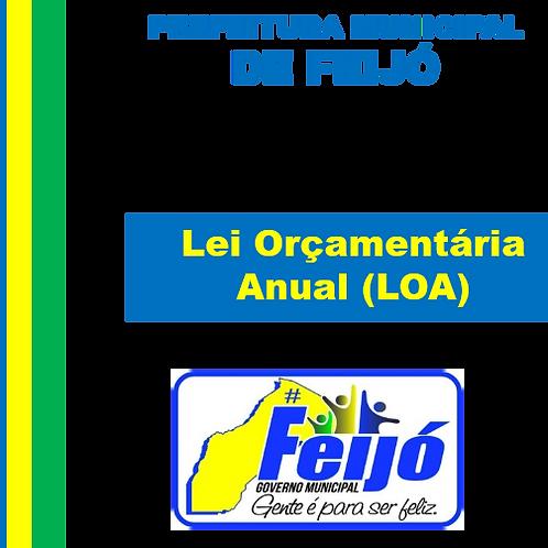 LEI Nº 827/2018 ( LOA 2019)