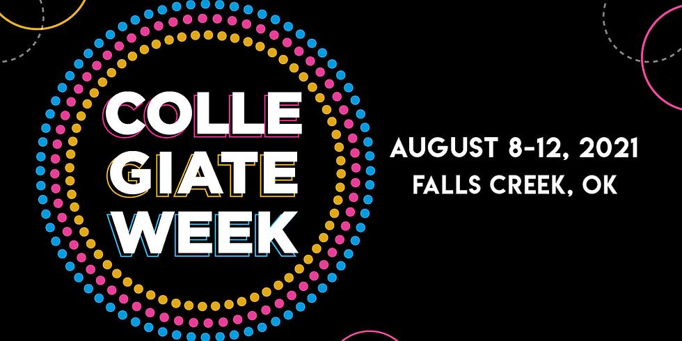 Collegiate Week at Falls Creek, OK - $199