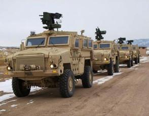 SANDF combat vehicles