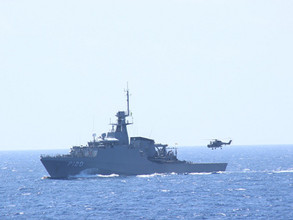 SA Navy praised for International Fleet Review and Ibsamar participation