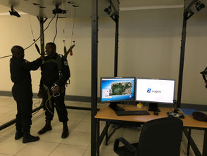 Parachute training simulator is a big jump for airborne forces