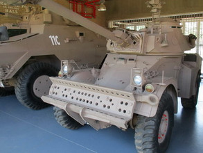 All four confiscated vehicles now back at SA military museum