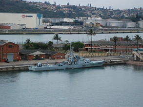 More work required at Naval Base Durban