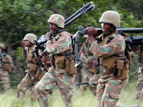 SANDF troops begin DRC rotation