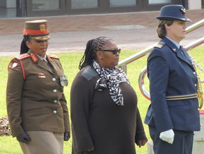 Defence Minister applauds women for their achievements in the military