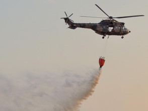Cape helicopter squadron rises to the fire challenge
