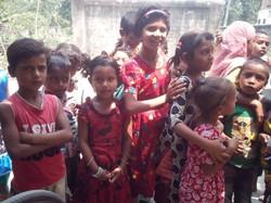 easter slum children