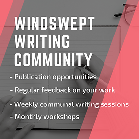 Windswept writing community description