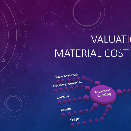 SAP CO-PA Valuation using Material Cost Estimate – Part III