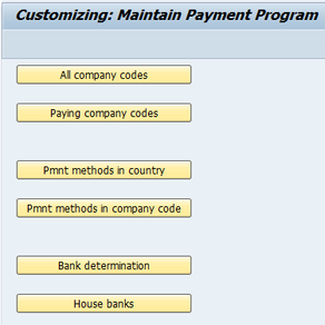 Automatic Payment – Part I – House Bank