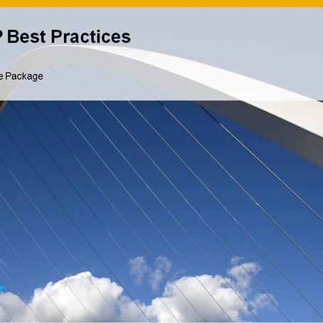 SAP Best Practices – Baseline Package (Part – VI)