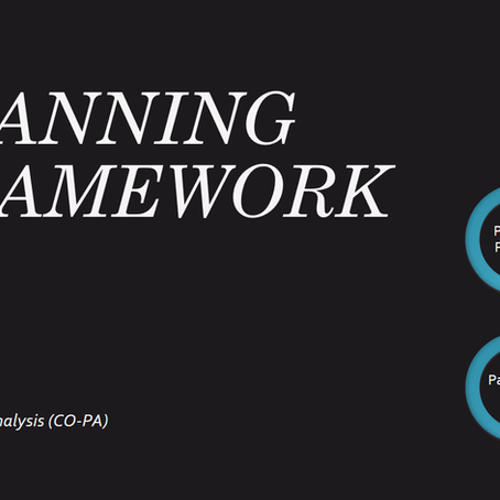 Planning Framework in Profitability Analysis