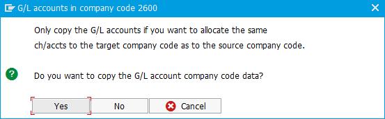 Company Code Creation