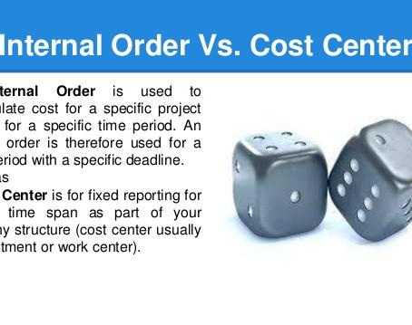 SAP CO Settlement Profile for Internal Order