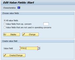 Value Fields