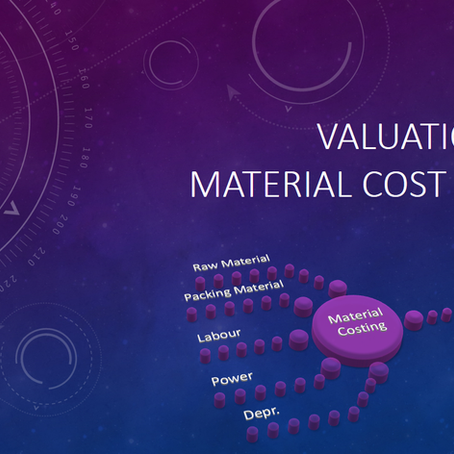 SAP CO-PA Valuation using Material Cost Estimate – Part I