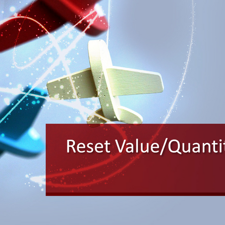 CO-PA Reset Value Fields